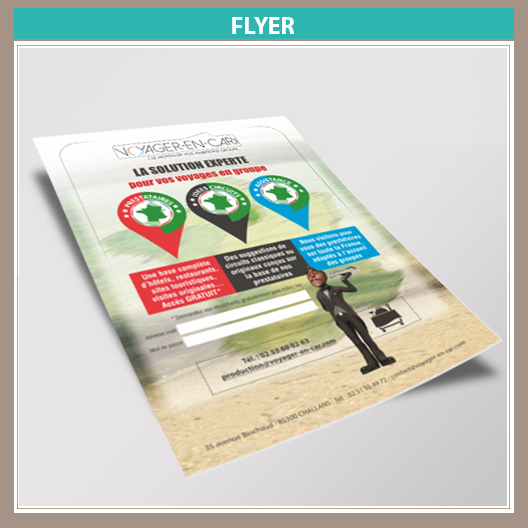 Flyer assistance Voyagiste