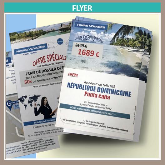 flyer Havas Voyages