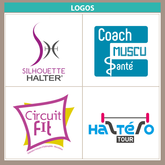 Silhouette Halter Coach Muscu Sante Circuit Fit Haltero Tour