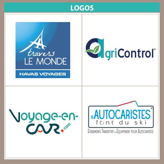 logos ATLM Agricontrol Voyage en car et LAFDS