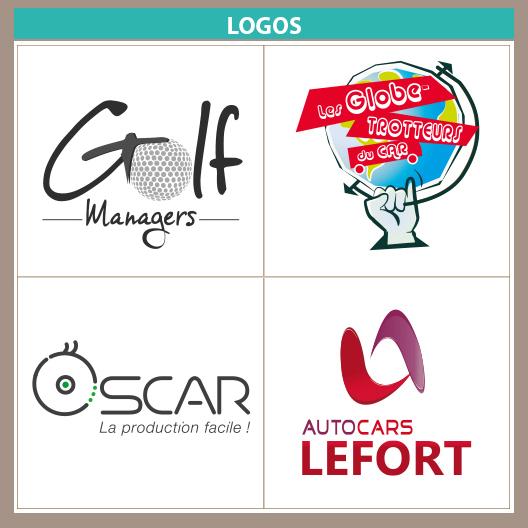logos Autocars Lefort voyages et Golf