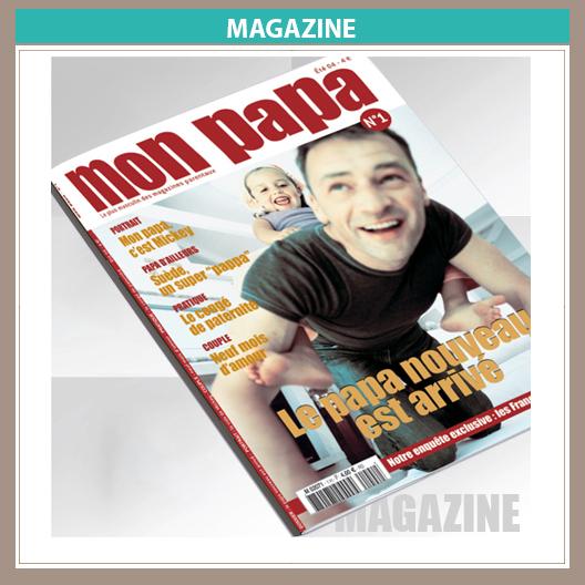 Magazine Mon papa